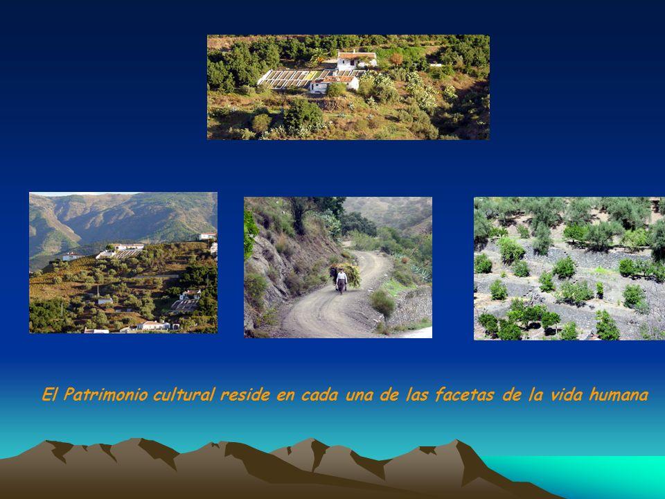 El Patrimonio cultural reside en cada una de las facetas de la vida humana