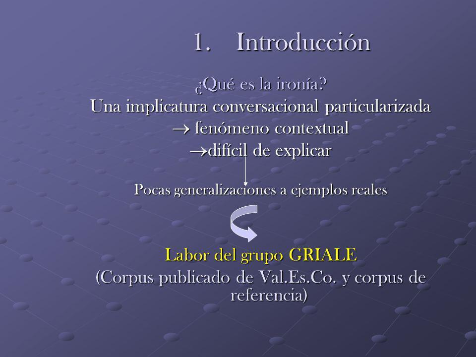 GRIALE HUM2004-01318: Análisis pragmático de la ironía verbal.
