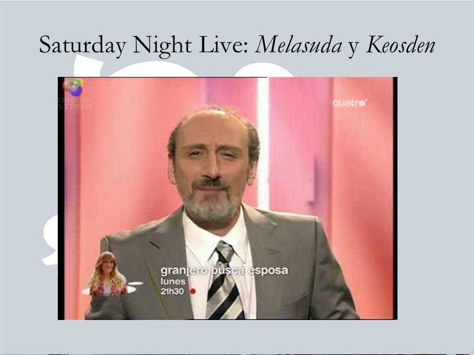 Saturday Night Live: Melasuda y Keosden