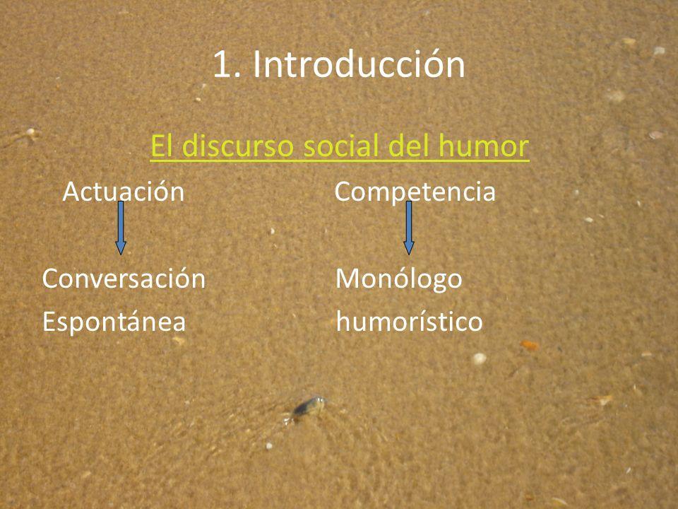 El discurso social del humor Leonor Ruiz Gurillo Universidad de Alicante.