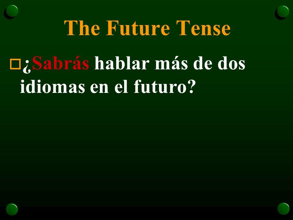 The Future Tense o En el futuro podremos usar el internet para seguir más carreras.