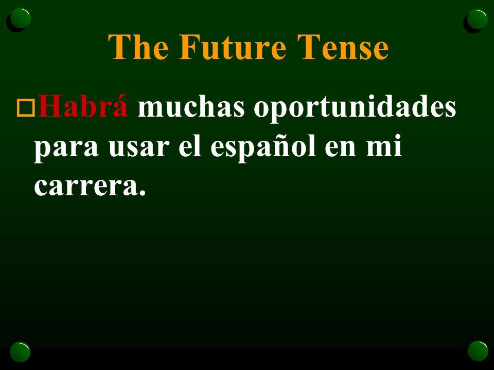 The Future Tense o ¿Sabrás hablar más de dos idiomas en el futuro?