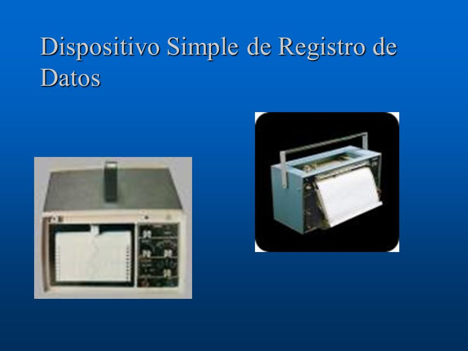 Dispositivo Simple de Registro de Datos