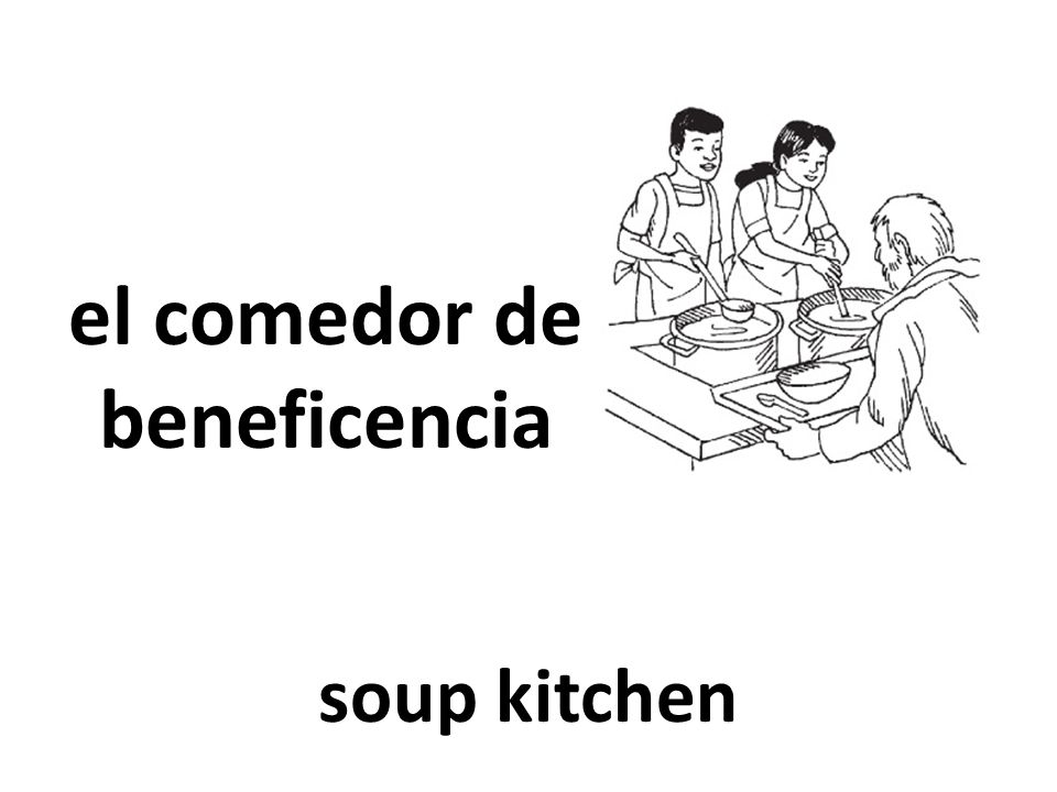 el comedor de beneficencia soup kitchen