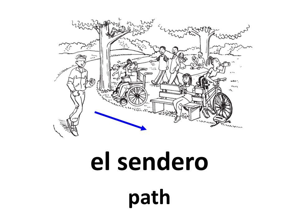 el sendero path