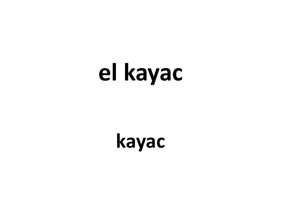 el kayac kayac