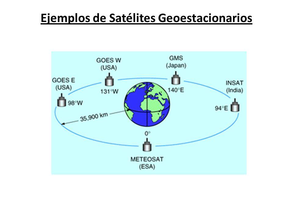 Ejemplos de Satélites Geoestacionarios