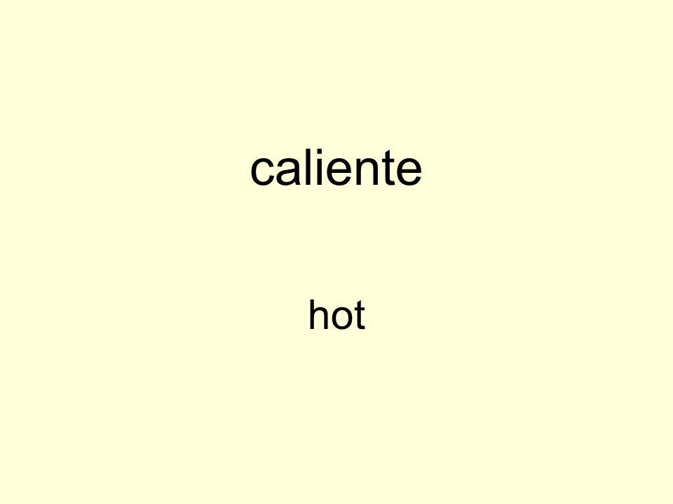 caliente hot
