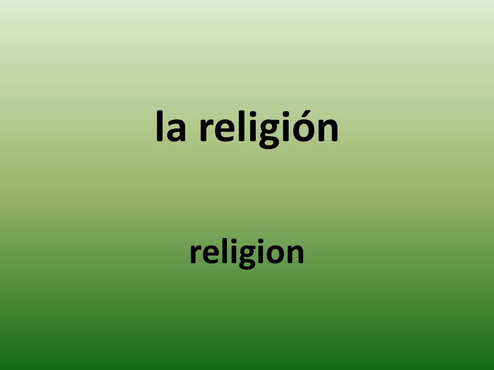 la religión religion