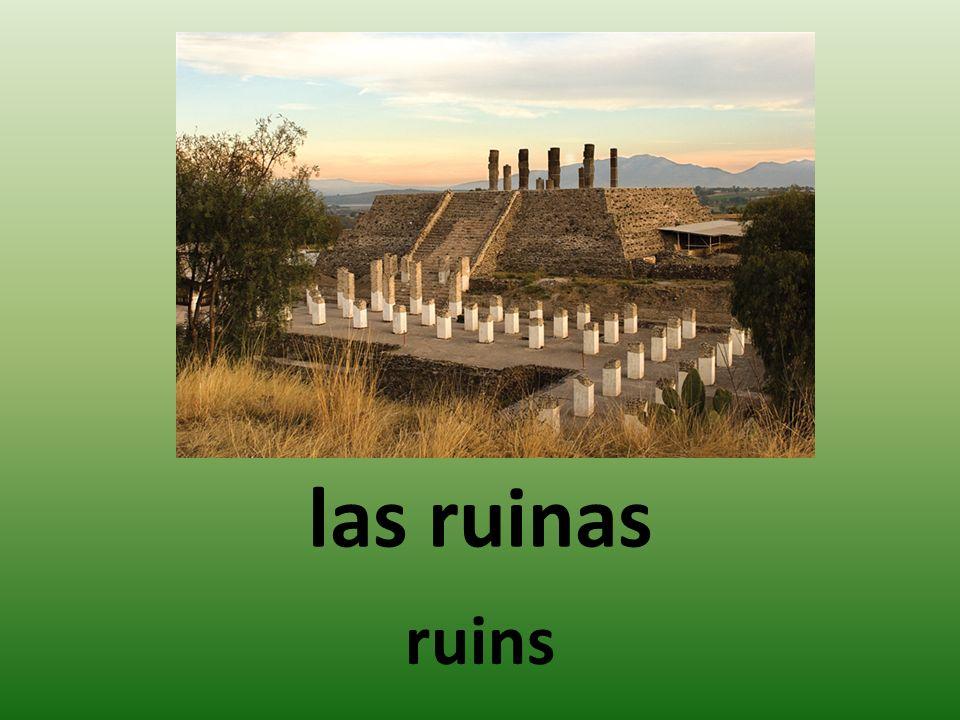 las ruinas ruins