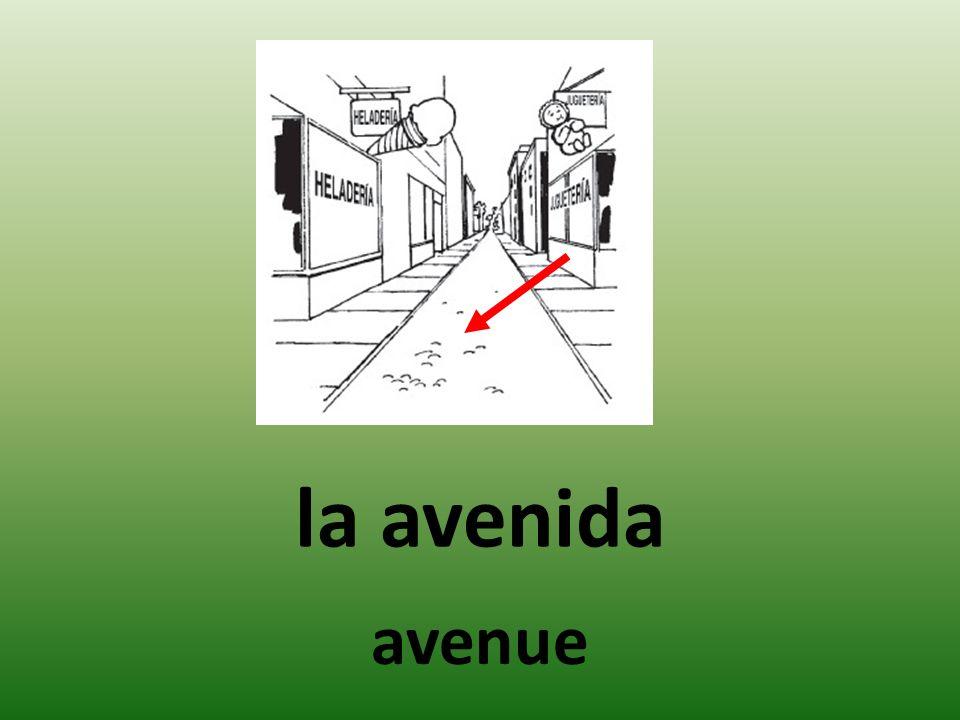 la avenida avenue
