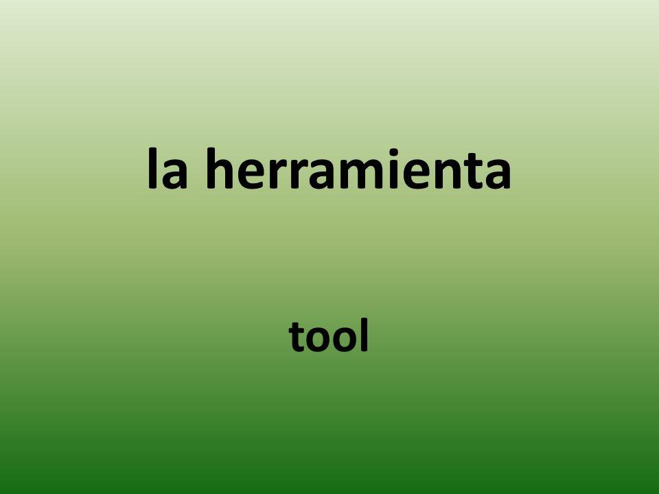 la herramienta tool