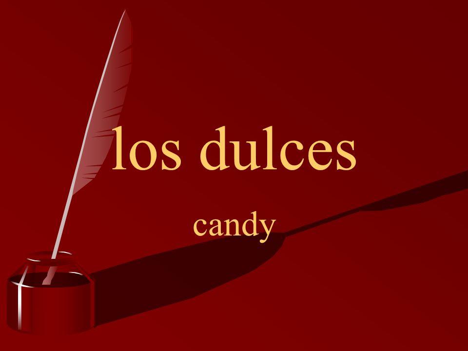 los dulces candy