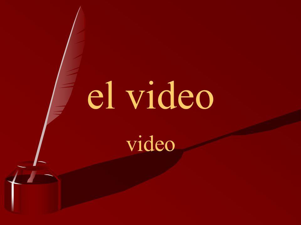 el video video