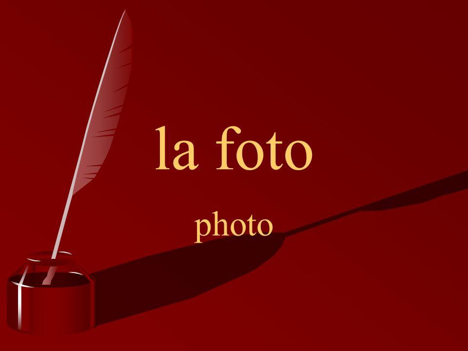 la foto photo
