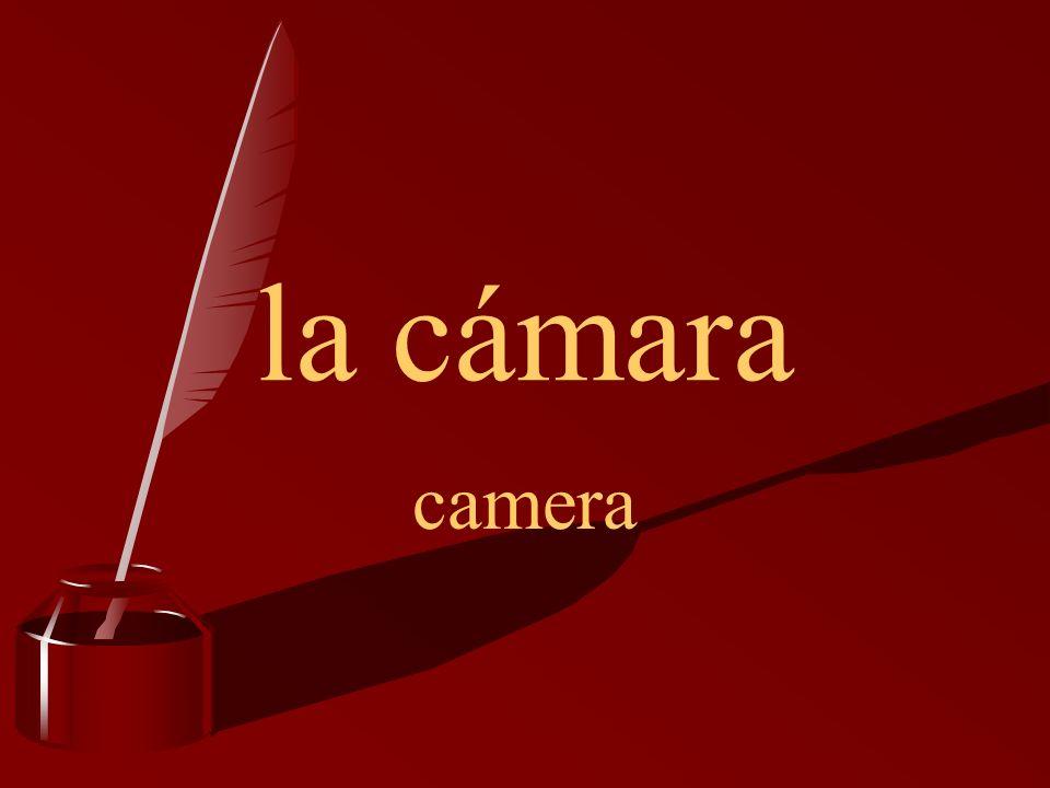 la cámara camera