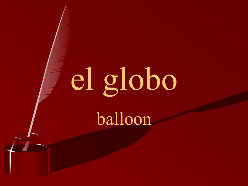 el globo balloon