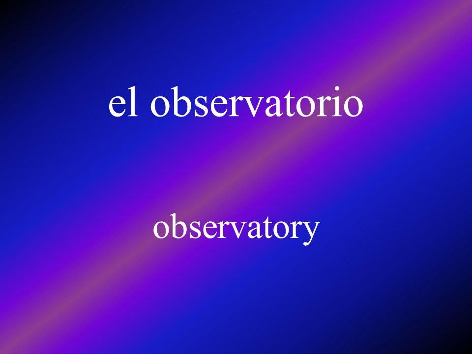 el observatorio observatory