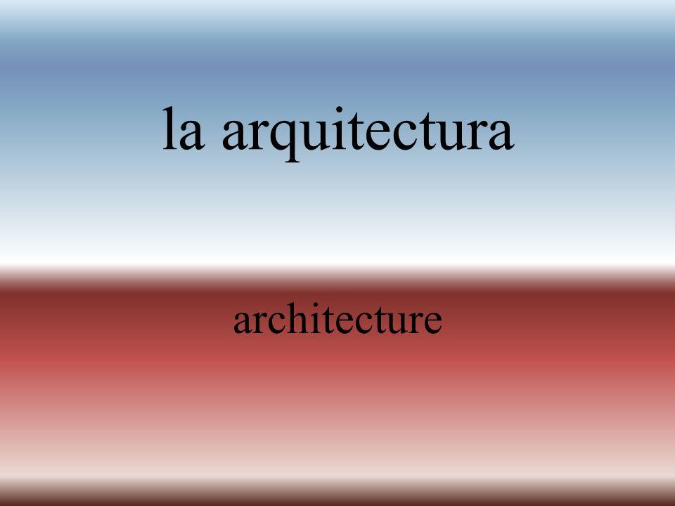 el arco arch