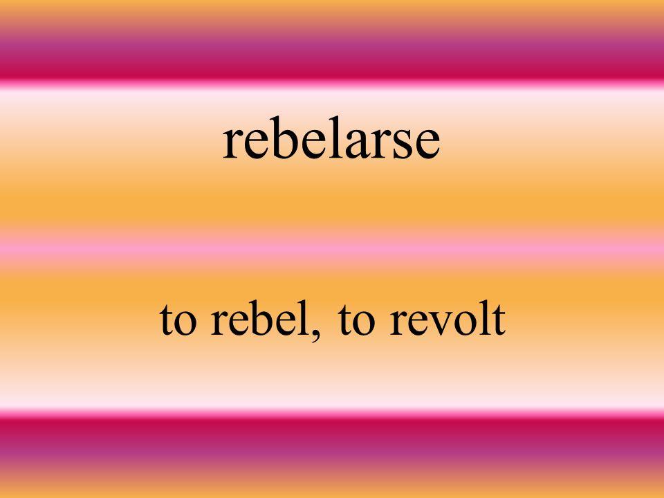 Establecer to establish