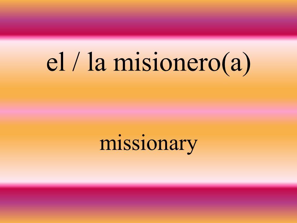 la misión mission