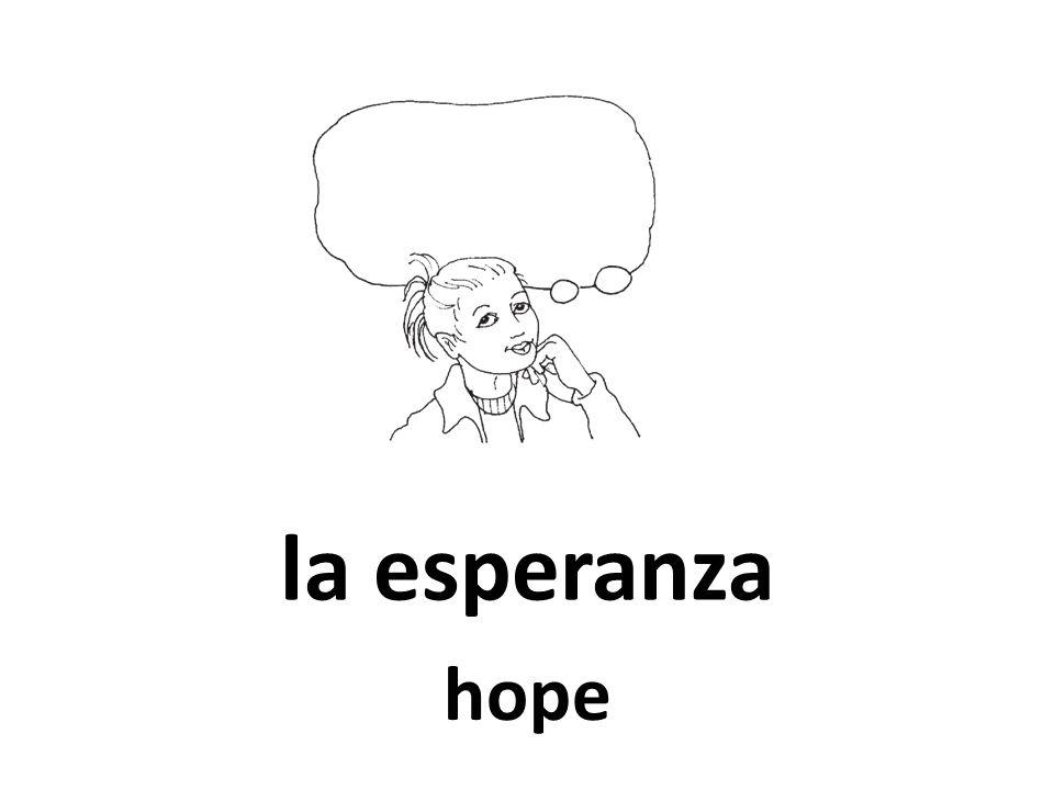 la esperanza hope
