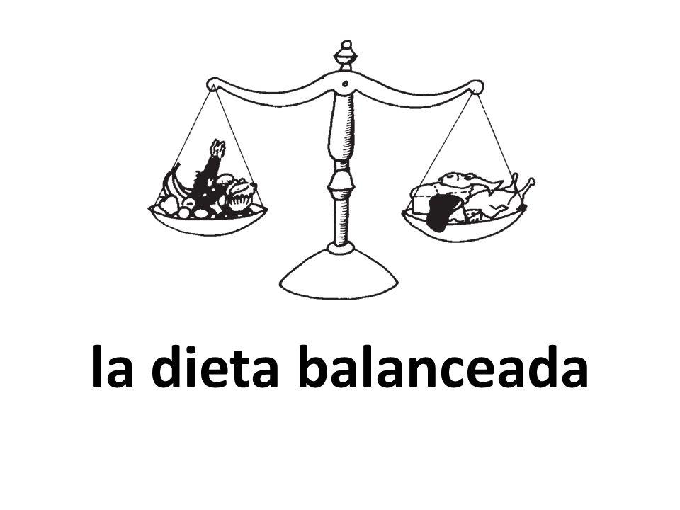 la dieta balanceada
