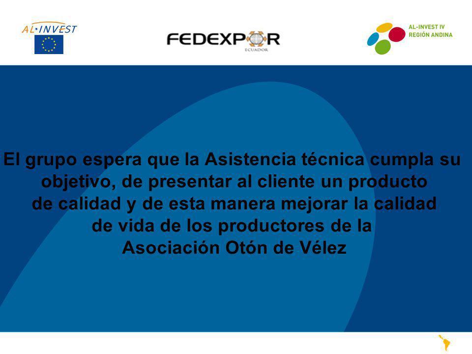 PASO 12 El grupo espera que la Asistencia técnica cumpla su objetivo, de presentar al cliente un producto de calidad y de esta manera mejorar la calid