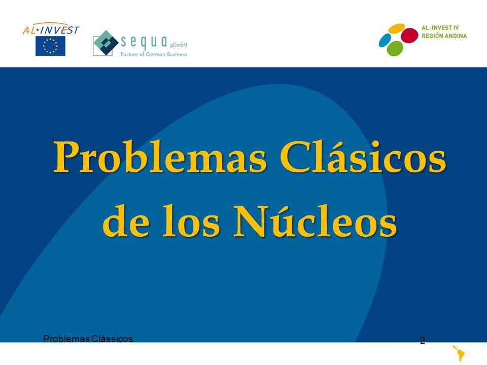 Problemas Clássicos 2 Problemas Clásicos de los Núcleos