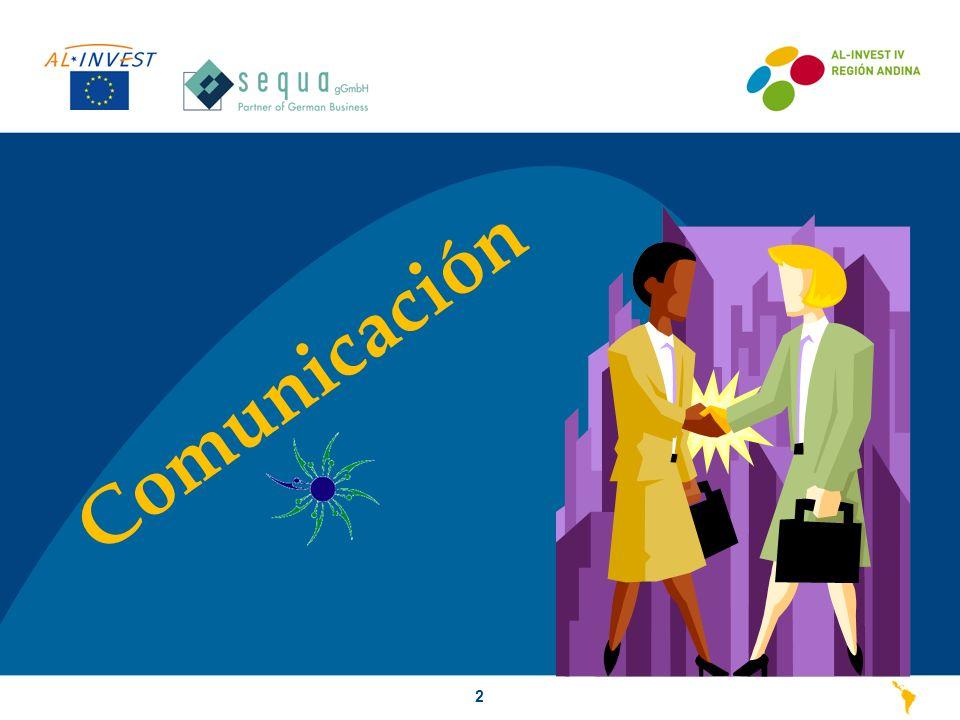 Elementos de la Comunicación3 Existe Comunicación cuando una persona influye sobre el comportamiento de otra, aún sin hablar.