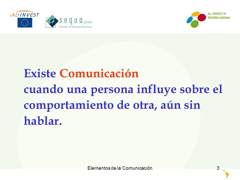 Elementos de la Comunicación4 AB EMISOR RECEPTOR El Receptor tiene oportunidad de poder reaccionar al mensaje MENSAJE RESPUESTA