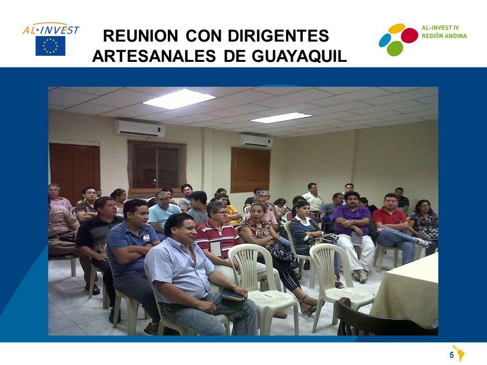 REUNION CON DIRIGENTES ARTESANALES DE GUAYAQUIL 5