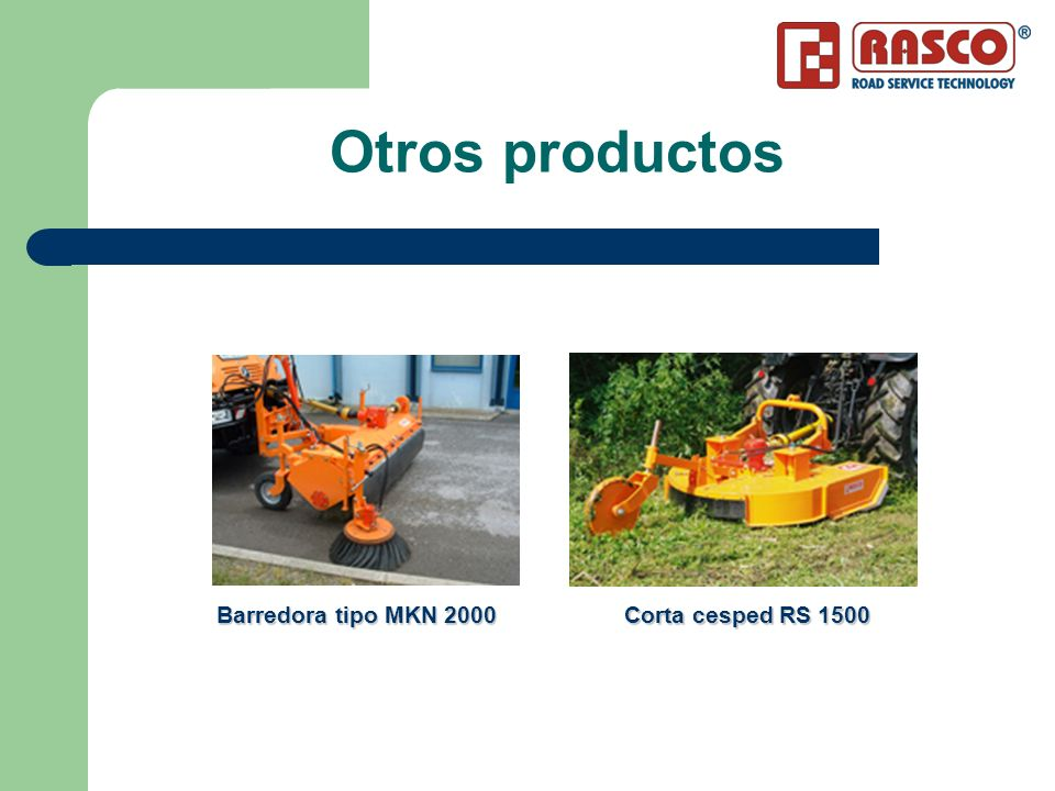 MKN Barredora – Características Las barredoras están diseñadas para limpiar calles, carreteras, en grandes superficies asfaltadas.