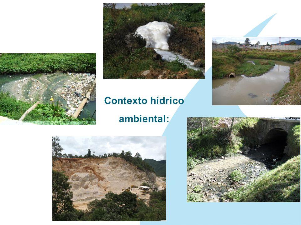 Contexto hídrico ambiental: