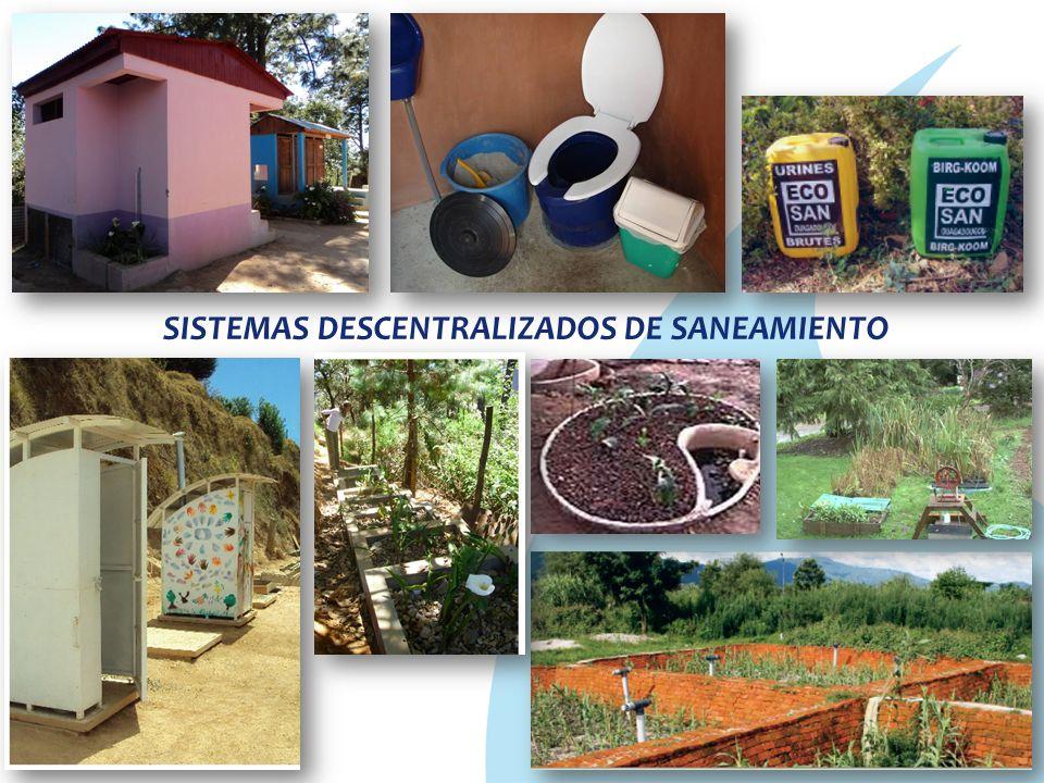 SISTEMAS DESCENTRALIZADOS DE SANEAMIENTO