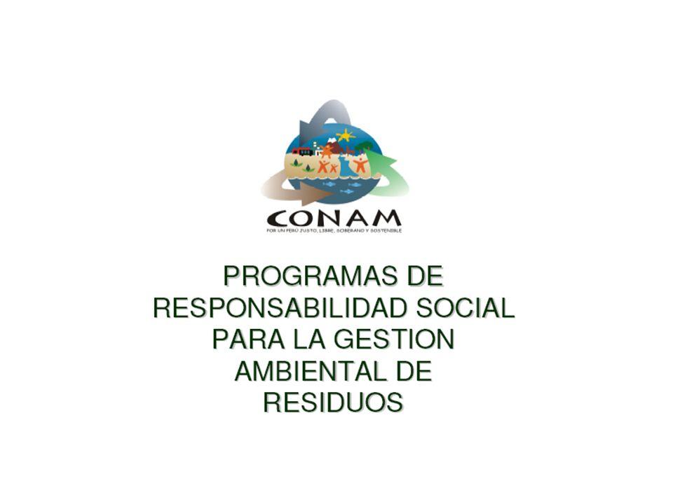 Comité de Responsabilidad Social Empresarial para el Manejo de Residuos Electrónicos en el Perú CONAM DIGESA Superintendencia de Bienes Nacionales Municipalidad de Lima Municipalidad de Surco Ministerio de Comercio y Turismo Comité Privado para la Agenda Digital Comité de Tecnologías de la Información de la Cámara de Comercio de Lima DELTRON EPSON SIEMENS HP WONG COIPSA IPES