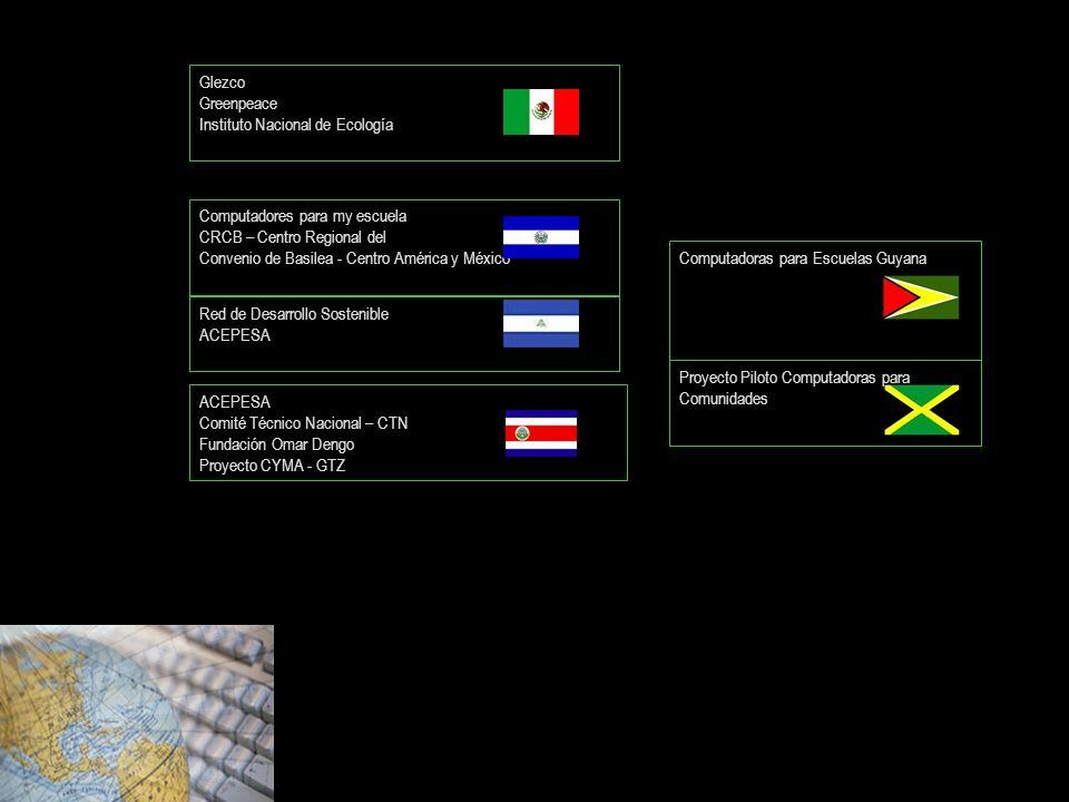 ACEPESA Comité Técnico Nacional – CTN Fundación Omar Dengo Proyecto CYMA - GTZ Computadores para my escuela CRCB – Centro Regional del Convenio de Bas