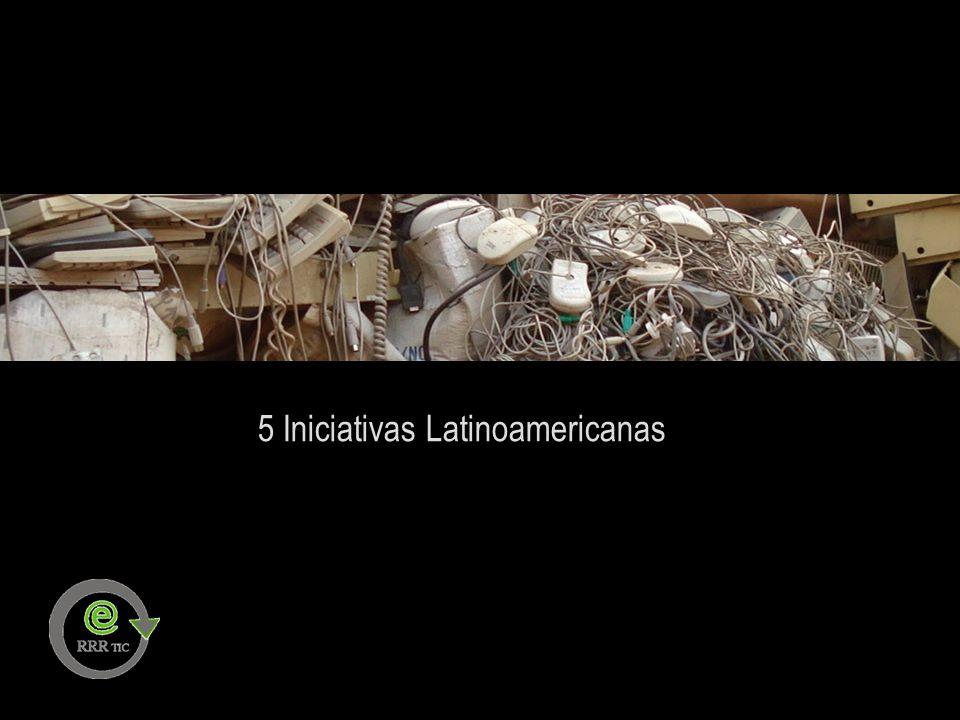 5 Iniciativas Latinoamericanas