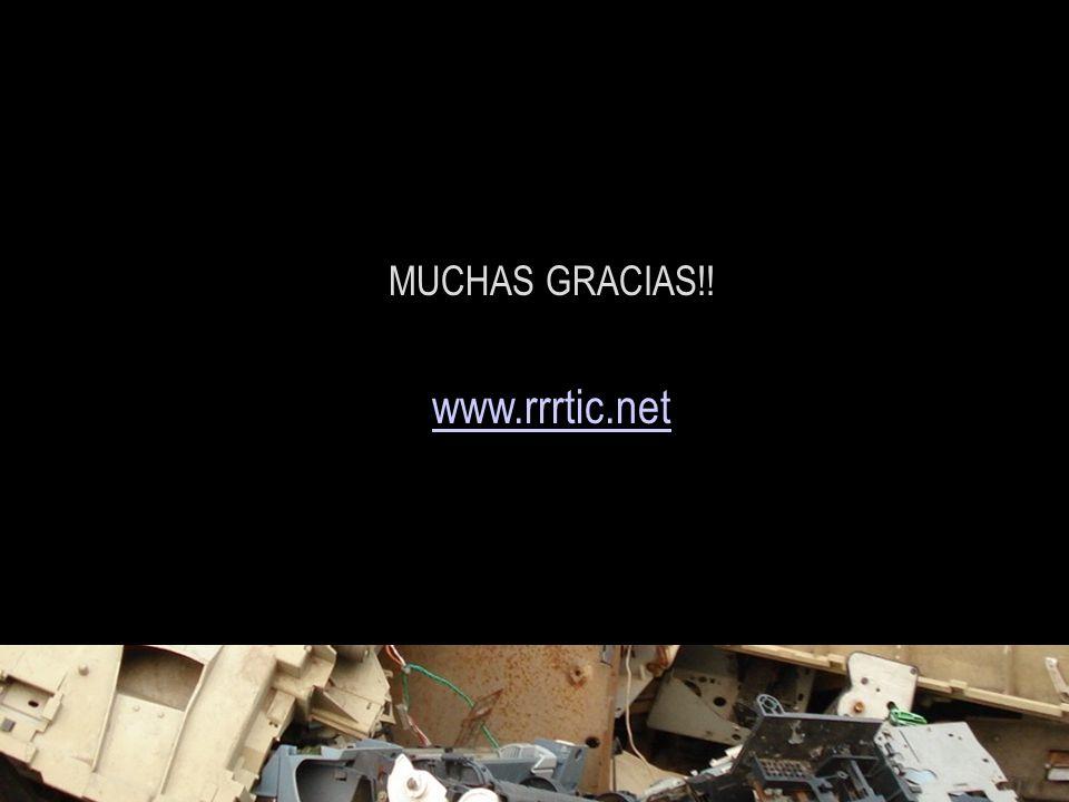 MUCHAS GRACIAS!! www.rrrtic.net