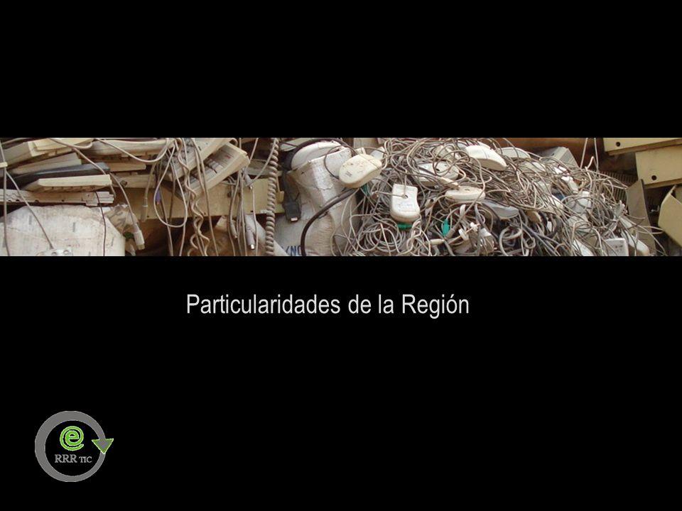 GENERACION DE INFORMACION Identificación de actores involucrados Identificación de componentes de aparatos electrónicos Metodología de Vía Verde Regulaciones nacionales