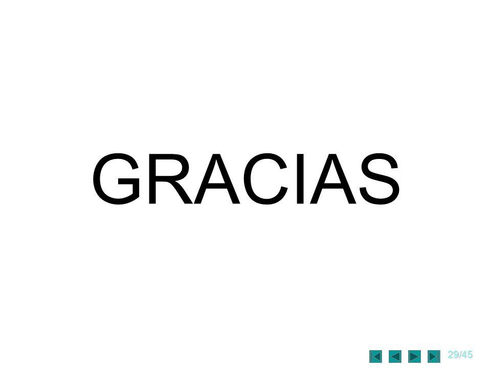 29/45 GRACIAS