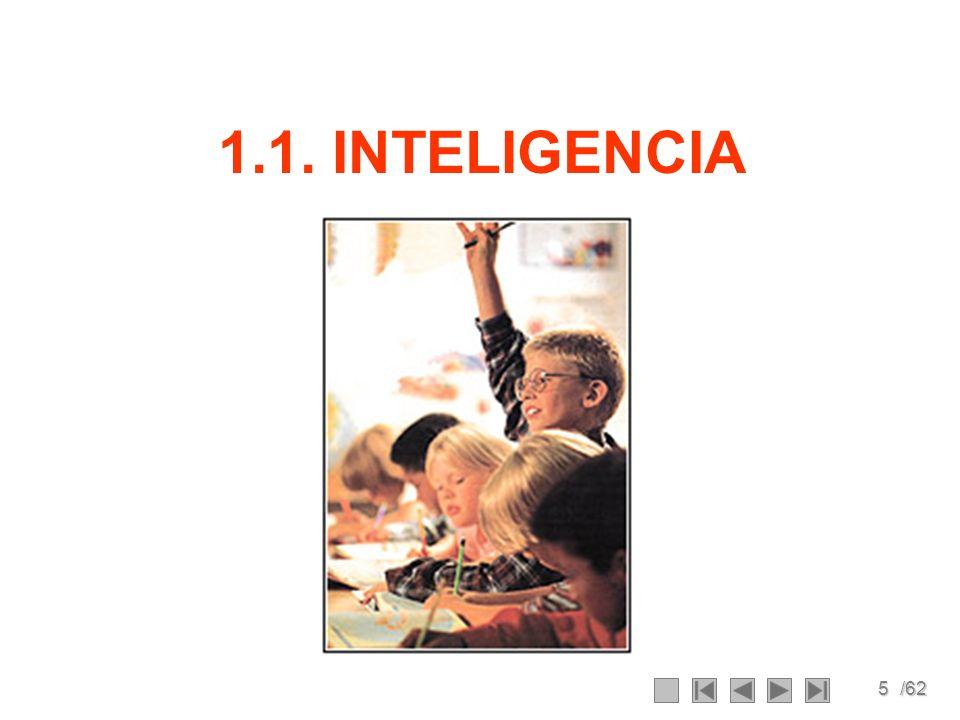 5/62 1.1. INTELIGENCIA