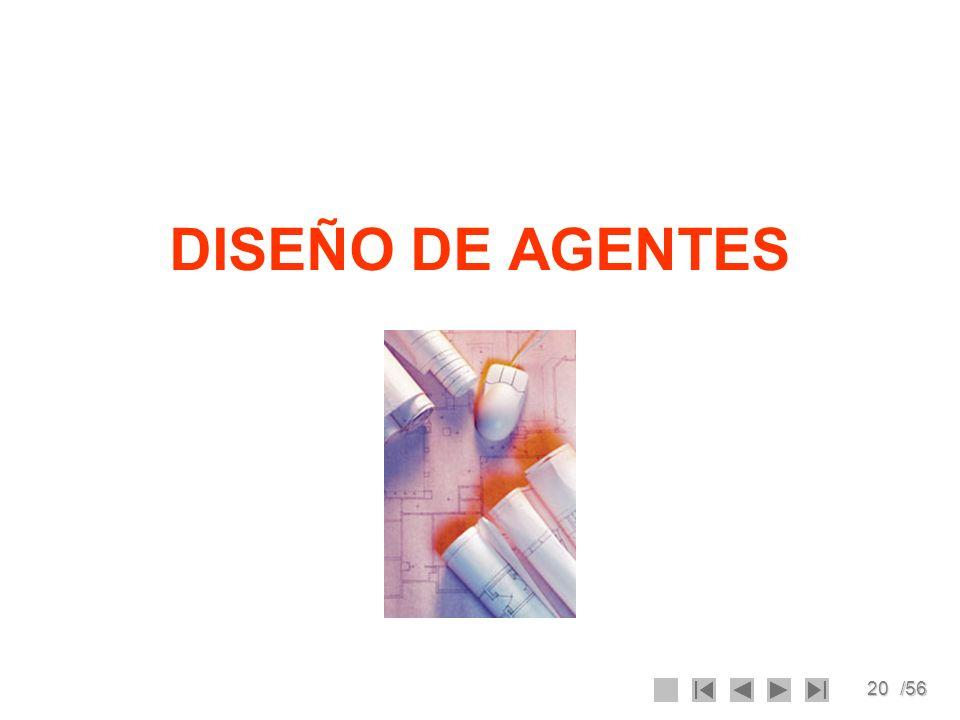 20/56 DISEÑO DE AGENTES