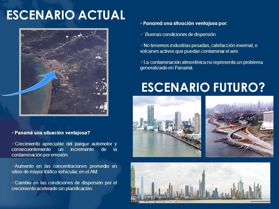 En qué consiste el problema detectado en Panamá.90% de la contaminación proviene de automóviles.