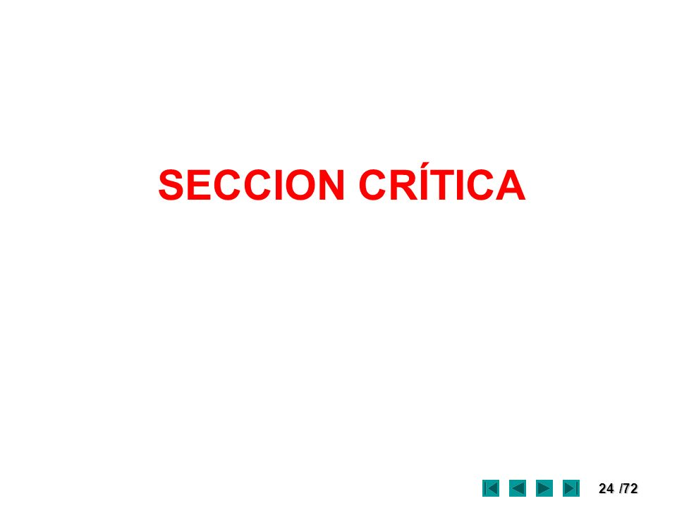 24/72 SECCION CRÍTICA
