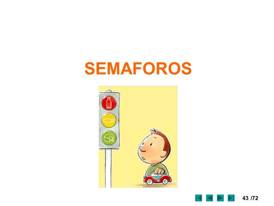 43/72 SEMAFOROS