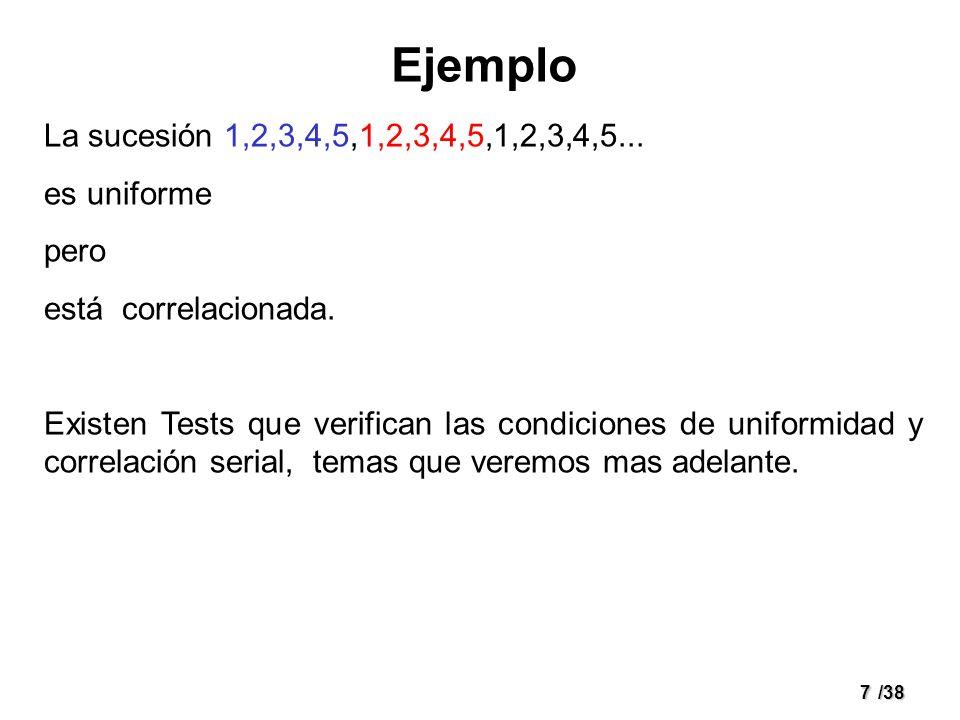 28/38 Selección de m, a, c, X 0 a)Selección de módulo (m).