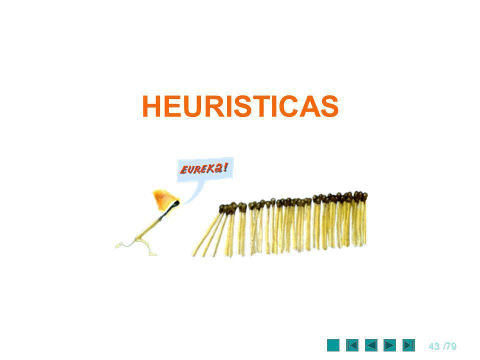 43/79 HEURISTICAS