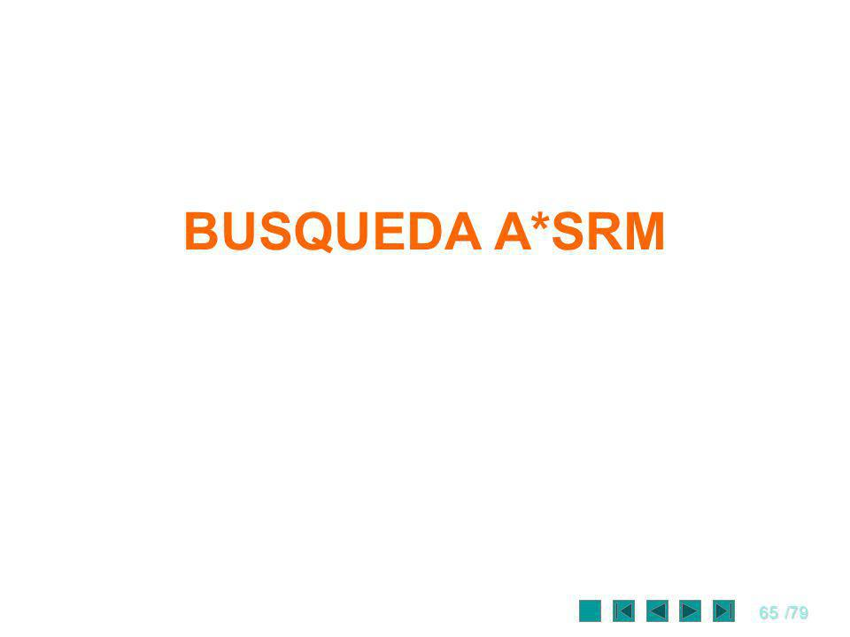 65/79 BUSQUEDA A*SRM