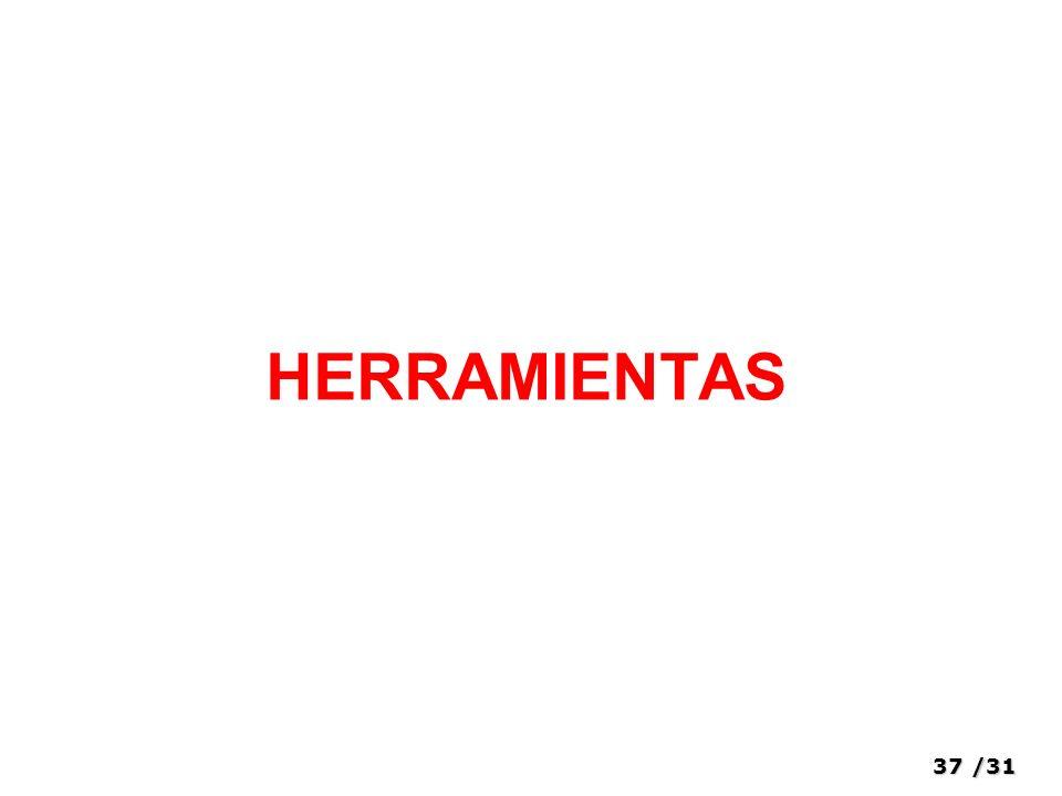 37/31 HERRAMIENTAS